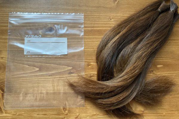 ヘアドネーション2回目。多分髪の毛人生で最短。